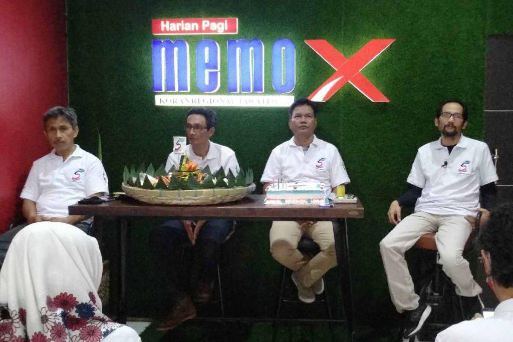 Jajaran Direksi Memo X Grup