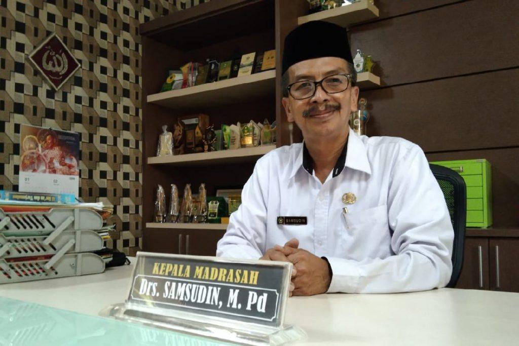 Kepala MTsN 1 Kota Malang, Drs Samsudin MPd. (ws1) - Berkat Prestasi, MTsN 1 Kota Malang Miliki Gedung Asrama Terpadu SBSN