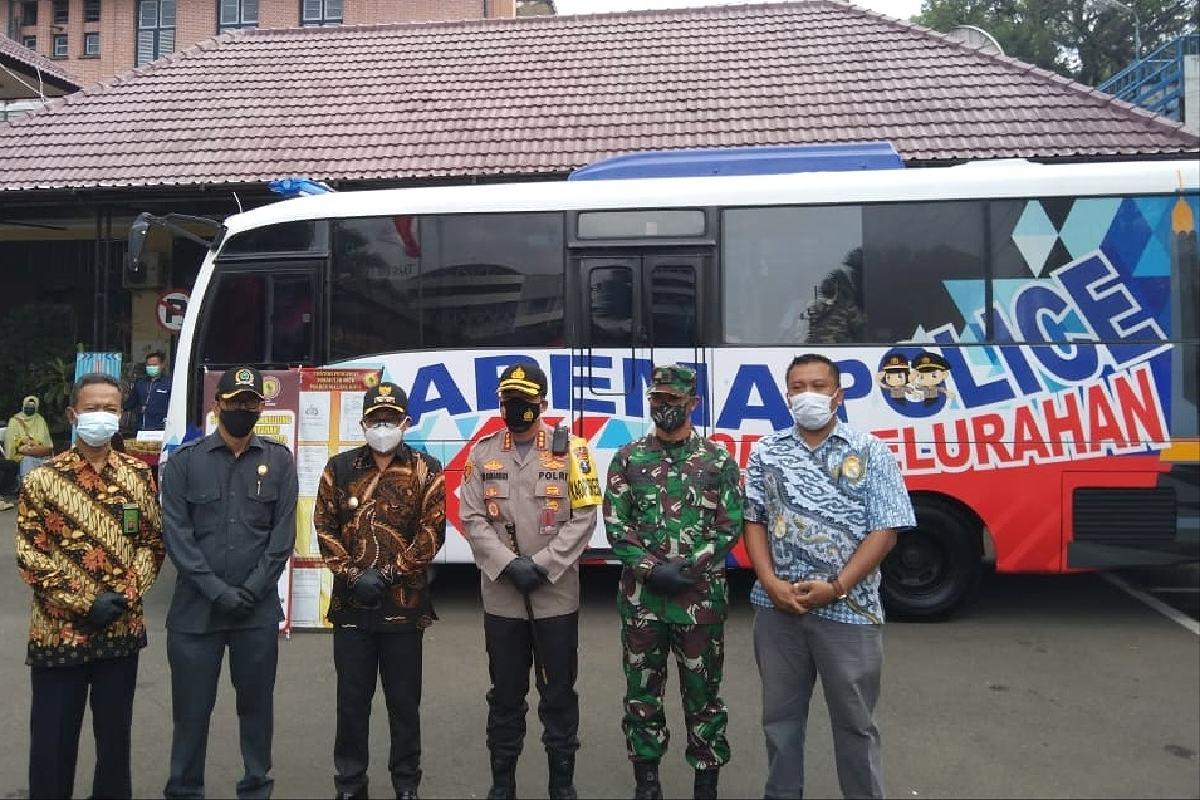 Permudah Layanan, Polresta Malang Kota Luncurkan Bus Arema ...