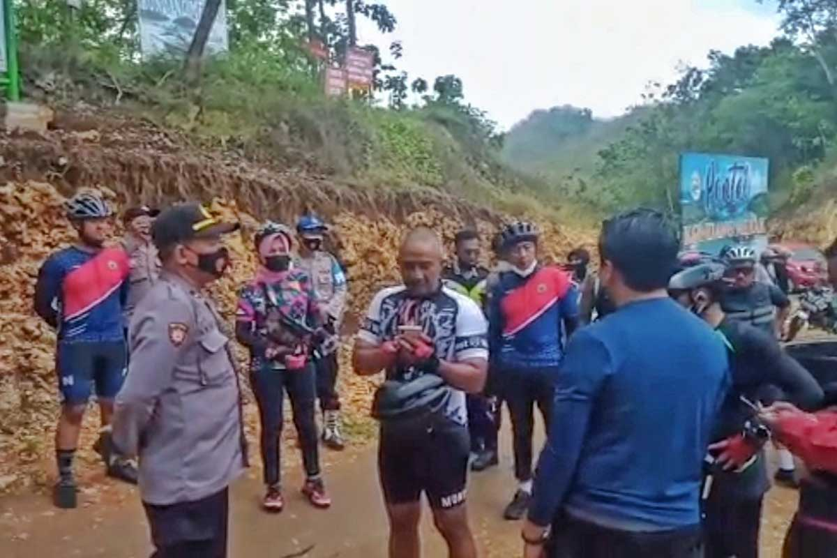 Pemkot Malang Klarifikasi Penolakan Saat Gowes Masuk Pantai Kondang Merak