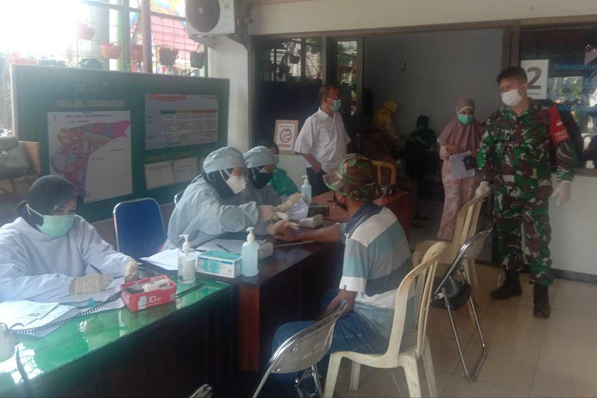 Forkopimcam Sukun Dampingi Vaksinasi Lansia dan Masyarakat Tanjungrejo